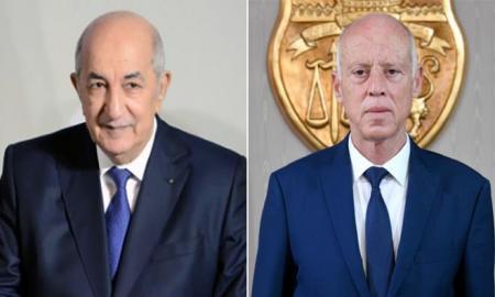 Kais Saied félicite le nouveau président algérien Abdelmagid Tebboune