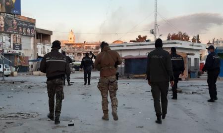 Reprise des heurts dans certains quartiers de Tunis