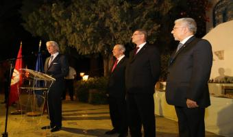 Reportage photos de la réception du 14 juillet