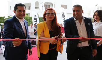 En photo, inauguration de Evertek Store Al Manar