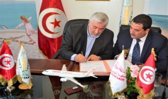 Convention de partenariat entre Tunisair et UTAP