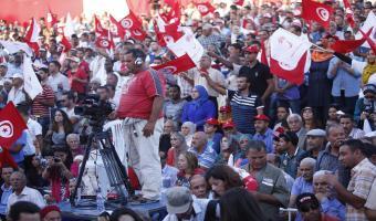 Reportage photos du meeting de Nidaa Tounes à Gabès