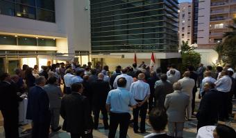 Réception d'Adieu de l'ambassadeur du Canada en Tunisie