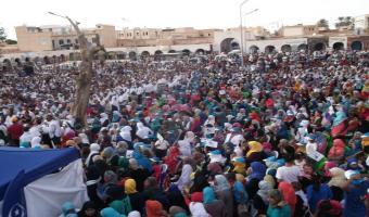 En photos, meeting du mouvement Ennahdha à Kébili