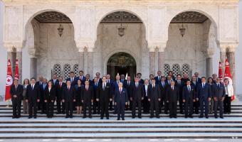 Les membres du gouvernement Chahed prêtent serment devant le Chef de l'Etat