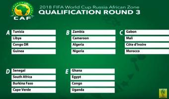 Coupe du monde 2018 : La Tunisie à la  tête d'un groupe à la portée, l'Algérie dans le groupe de la mort