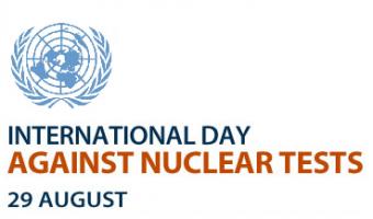 Journée Internationale contre les essais nucléaires, le 29 août