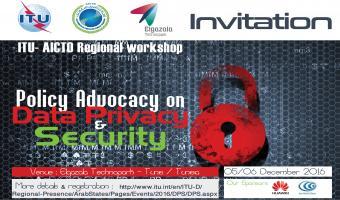 Les 5 et 6 décembre, workshop sur la confidentialité et la cyber-sécurité