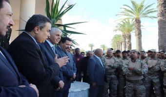 Mehdi Jomâa félicite le groupe d'intervention de l'opération de Oued Ellil