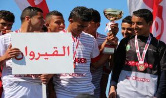 L'équipe du collège El Hajeb de Kairouan remporte la 6 ème édition de l'Ooredoo Foot Junior