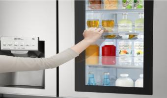 LG présente son nouveau réfrigérateur intelligent InstaView