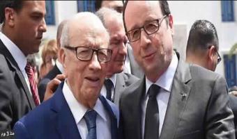 Pour recevoir Béji Caïd Essebsi, Paris met les petits plats dans les grands !