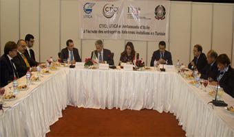 L'UTICA à l'écoute des entreprises italiennes installées en Tunisie