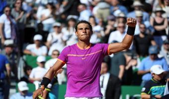 Tennis-Classement ATP: Le matador espagnol Rafael Nadal de nouveau dans le top 5