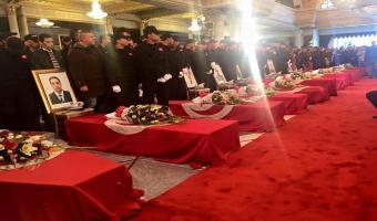 Hommage aux martyrs de la Nation (en images)