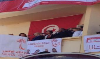 En photos, Béji Caïd Essebsi à Hammam-Lif