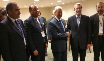 Rencontre entre les délégations parlementaires Tunisienne et Iranienne à New York