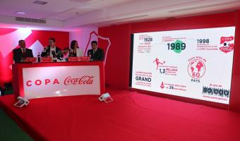 Lancement de la 3ème édition de la Copa Coca-Cola