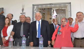En photos, Kamel Morjane effectue une visite à Kairouan
