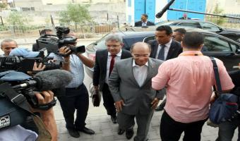 Présidentielle-Reportage photos: Marzouki dépose officiellement sa candidature