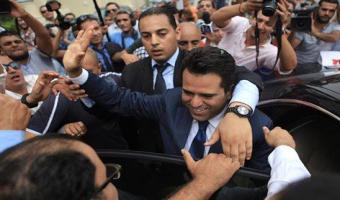 Présidentielle-Reportage photos: Slim Riahi dépose officiellement sa candidature