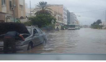 En images : Des inondations qui engloutissent  toute la Tunisie !!!