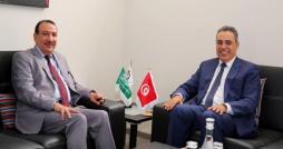 Mehdi Jomaa s entretient avec l ambassadeur d'Arabie saoudite