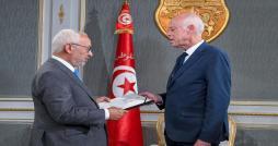 Rached Ghannouchi remet au président de la République le nom du chef du gouvernement désigné