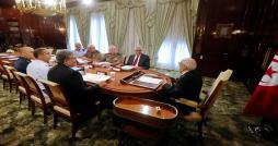 Réunion du Conseil supérieur des armées sous la présidence du Chef de l'Etat