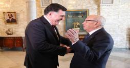 Tunisie-Libye : Caïd Essebsi rencontre le président du conseil présidentiel libyen