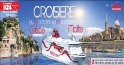 CTN : Annulation de la croisière vers Corfou et La Valette