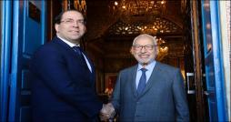Rencontre Ghannouchi-Chahed : nécessite de former un gouvernement d'union nationale