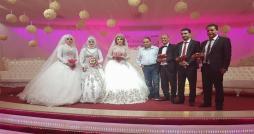 Leoni organise une cérémonie de mariage collectif au profit de ses employés