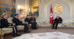 Béji Caïd Essebsi reçoit les lettres de créance de nouveaux ambassadeurs