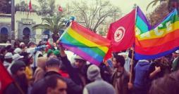 Hammam-Sousse: Que font les drapeaux gays de la communauté homosexuelle dans la Dakhla du bac sport ?