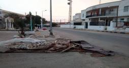 Affrontements entre forces de l'ordre et les protestataires à M'dhilla