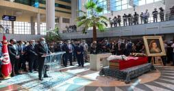 Hichem Mechichi prononce l'éloge funèbre de la grande chanteuse Naama