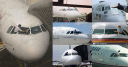 Le pilote de Tunisair nettoyant le pare-brise de l avion: Une tempête dans un verre d'eau !