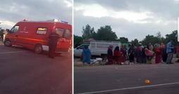12 blessés dans la collision d'un camion de contrebandiers contre un véhicule d'ouvrières agricoles