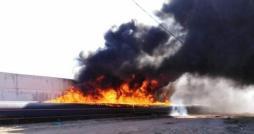 Sousse: Incendie dans les environs du marché de gros
