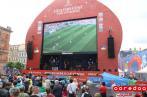 Retransmission publique du match France-Uruguay 2-0 (photos)