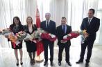 En photos: Sonia Ben Cheikhprend officiellement ses fonctions