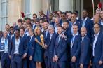 Les champions du monde reçus à l'Elysée