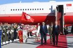 Erdogan en visite de travail à Tunis