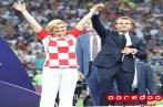 La France championne du monde: La remise du trophée en images