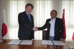 Don japonais pour l'aménagement de l'école primaire Hammam Biadha à Siliana
