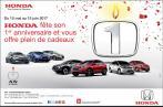 Honda souffle sa première bougie en Tunisie