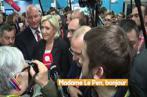 Paris : Un journaliste « tabassé »  lors d'un point de presse de Marine Le Pen