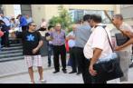 Présidentielle: Un candidat accompagné d'un groupe folklorique (vidéo)