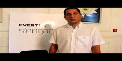 Mohamed Ben Rhouma (PDG de Cellcom) donne un aperçu sur la première action citoyenne d'Evertek